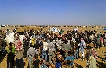 Suriye-Ürdün sınırındaki Rukban kampında insanlık krizi