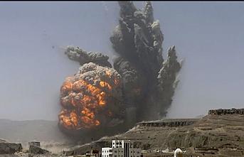 Suudi Arabistan öncülüğündeki koalisyon güçlerinden Yemen'e saldırı