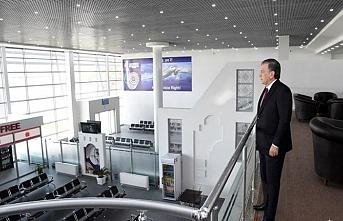 Tirmiz Havaalanında mescid açıldı