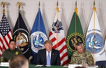 Trump'tan Meksika sınırına ziyaret