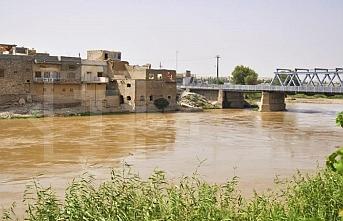 Zap Nehri'nin taşması sonucu evler tahliye edildi