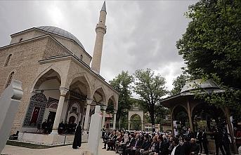 Bosna'nın incisi Foça Alaca Cami ibadete açıldı