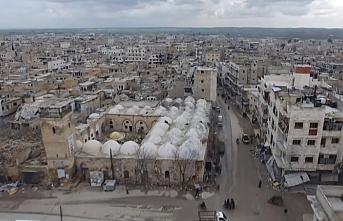 El- Bab'da bomba yüklü araç patladı