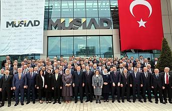 Erdoğan MÜSİAD'ın yeni binasını açtı