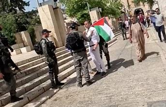 Hollanda milletvekili Tunahan Kuzu, işgal altındaki Doğu Kudüs'te gözaltına alındı