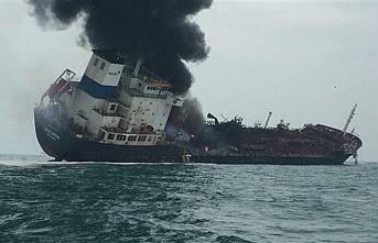 İran petrol gemisi Cidde Limanı'nda