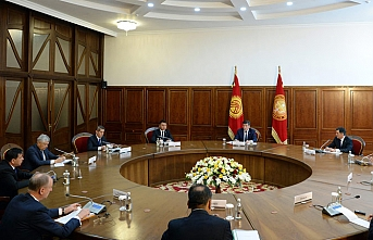 Kırgız lider: ŞİÖ'nün sınırlarını güvenli hale getirmek önceliğimiz