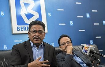 Malezya Ulusal Haber Ajansı'ndan AA'ya dayanışma