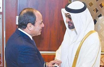 Nahyan'ın görüşme trafiğine Sisi de eklendi