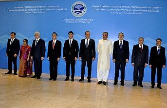 Şanghay İşbirliği Örgütü Dışişleri bakanları Bişkek'te toplandı