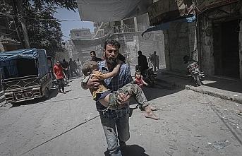 SMDK'den uluslararası topluma 'İdlib'deki katliamları durdurun' çağrısı