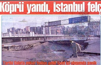 Tarihte Bugün (16 Mayıs): Galata Köprüsü yangın sonucu kullanılamaz hale geldi