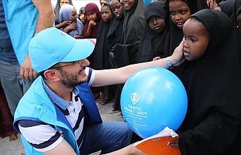TDV'den Somalili çocuklara bayramlık