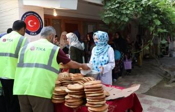 TİKA'dan Afganistan'ın Belh Üniversitesi öğrencilerine iftar