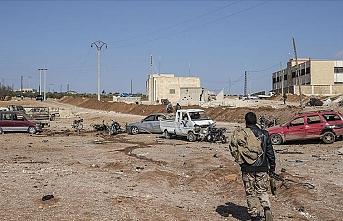 Bab'da araca yerleştirilen bomba patladı: 1 ölü, 1 yaralı