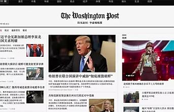 Çin'den Washington Post ve Guardian'ın internet sitelerine erişim engeli