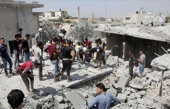 İdlib Gerginliği Azaltma Bölgesi'ne hava saldırıları: 10 ölü