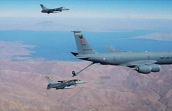 Irak'ın kuzeyinde PKK'ya havadan darbe