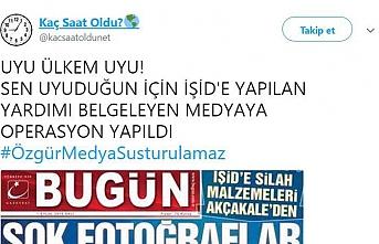 Kaç Saat Oldu hesabının kullanıcısı İstanbul'da yakalandı