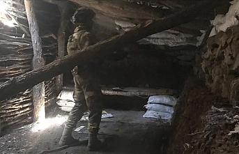 Pençe Harekatı'nda teröristlere ait 500 metre uzunluğundaki mağara kullanılamaz hale getirildi