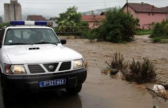 Sancak'ta 2 şehirde sel nedeniyle olağanüstü hal ilan edildi