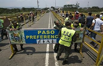 Venezuela sınır kapılarını açıyor