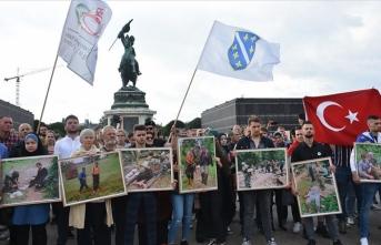 Avusturya'da Srebrenitsa soykırımı kurbanları anıldı