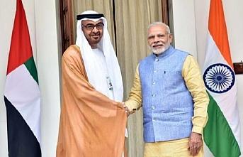 BAE Dışişleri Bakanı Nahyan üç gün Hindistan'da olacak