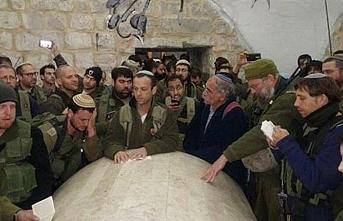 Bin 300 Yahudi'nin Yusuf Peygamberin türbesine baskını olaylı bitti