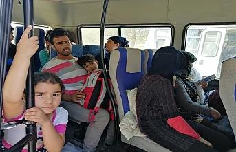 Çanakkale'de yasa dışı göçmen operasyonu
