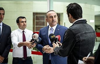 Çavuşoğlu: Mesrur ve Neçirvan Barzanilerle görüştük