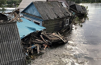 Doğu Sibirya'daki sel felaketinden ölenlerin sayısı 18'e yükseldi