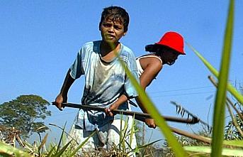 Dünya çocuk işçiliğini savunan devlet başkanını da gördü