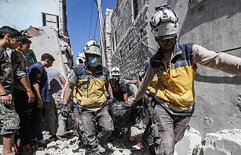 Esed'den cuma sabahı pazar yerine hava saldırısı: 2 ölü