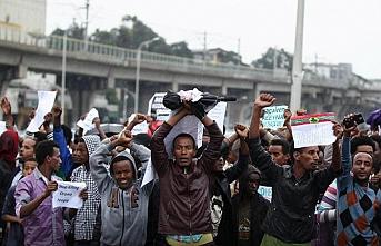 Etiyopya'da özerklik gösterisine müdahale: 17 ölü