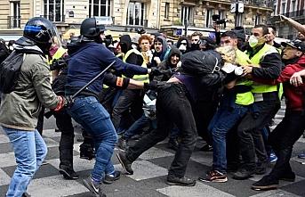 Fransa'da Ulusal Bayram kutlamalarında 152 gözaltı