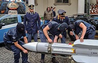 Fransız yapımı füze İtalya'da Neo-Nazi operasyonunda ele geçirildi