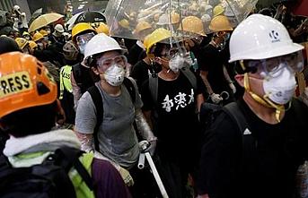 Hong Kong'daki iade yasası protestocularına soruşturma çağrısı