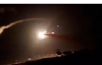İsrail'den Suriye'deki hedeflere füze saldırısı