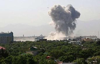 Kabil'de bakanlıklar önünde silahlı saldırı, 105 yaralı