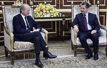Macron'un Suriye Özel Temsilcisi Barzani ile görüştü