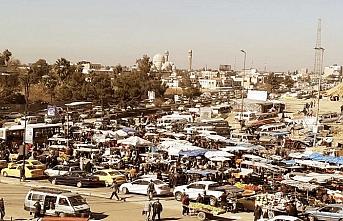 Musul'daki DEAŞ üyeleri havadan vuruldu
