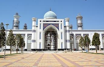 Orta Asya'nın en büyük camisinin açılış tarihi belli oldu
