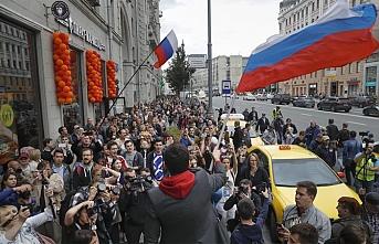 Rusya'da seçimler öncesi gözaltılar başladı, ünlü muhalif Navalniy ortada gözükmüyor