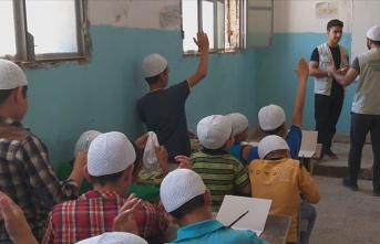 Şebabul Hüda Derneği Afrin'de yardımlarını sürdürüyor
