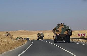 Suriye sınırına 10 araçlık askeri sevkiyat