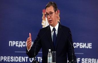Vucic: Haradinaj'ın istifası siyasi bir aldatmaca