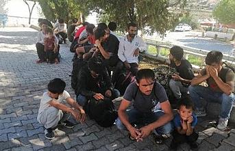 Çanakkale'de 147 kaçak göçmen yakalandı