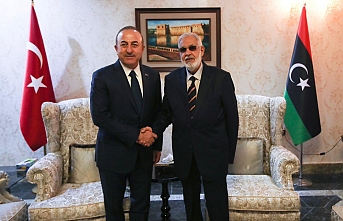 Çavuşoğlu Libyalı mevkidaşı ile görüştü