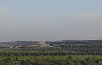 Fırat Kalkanı bölgesine yapılan saldırıya karşılık verildi